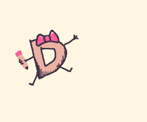 Female drawception d