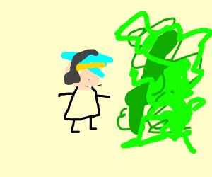 ninja green thing