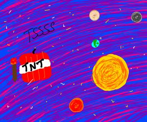 Cosmos explodes