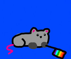 Gay pride mouse