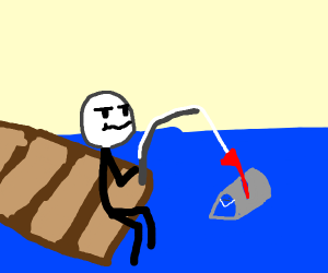 Fishing for a Mailbox
