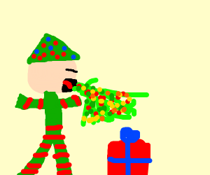 Elf Puking