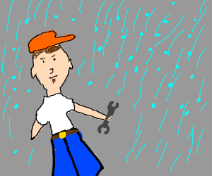 Mechanic in a Hailstorm