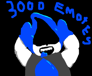 Lancer got 3000 emotes