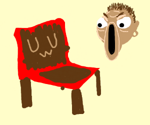 A Guy Is Mad At An UwU Chair