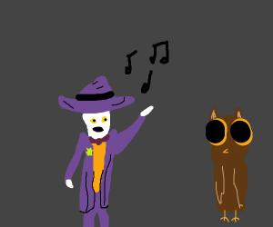The Joker Serenades An Owl