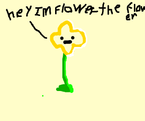 Flowey from Undertale!