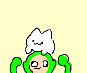 bongo cat on teletubby
