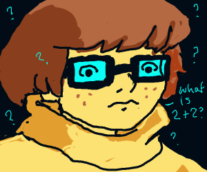 velma asks what 2+2 is
