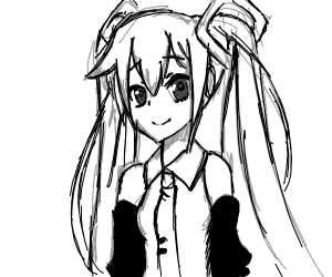 Unfinished Miku (but very good!)