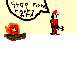 Santa's worst fear