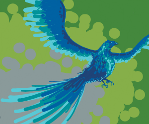 Pheonix taking to the skies