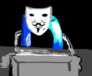 Anonymous drawception user