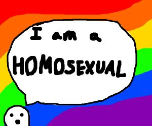 I am a homosexual