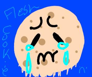 ominous sad flesh cookie