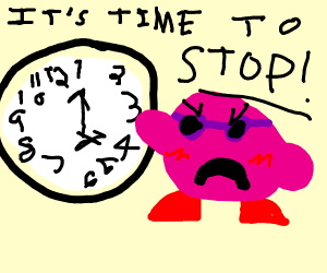 kirby telling me to stop