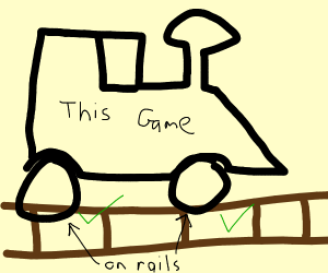 Do not derail this game.