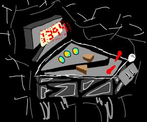 Abstract pinball machine