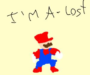 Mario needs directions