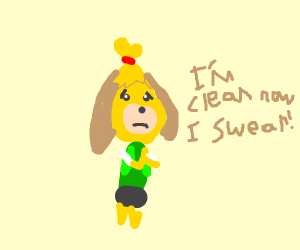 Isabelle turns a new leaf