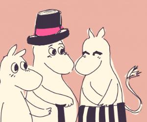 The moomins