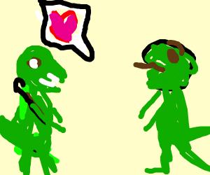 Baby T-Rex Wants Love