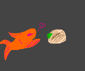 Goldfish LOVES Taco