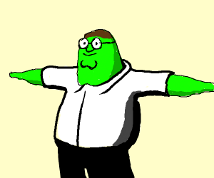 green peter griffin