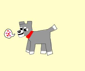 blocky dog