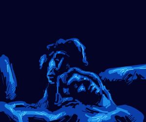 Blue Sleeping Couple