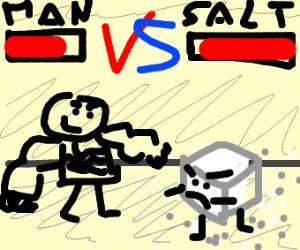 strong man vs salt