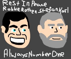 Rest in peace, Stefan Karl (Robbie Rotten)