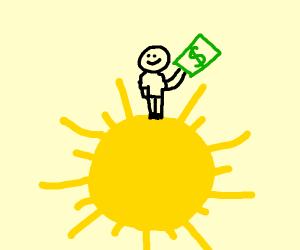 Investor on the Sun