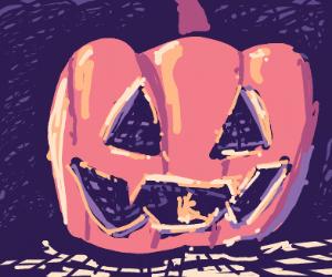 Jack-o-lantern Vampire