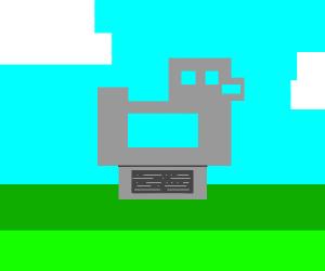 Duck monument