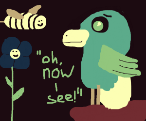 "Birds + Bees  - ""Oh now I see!"""