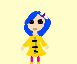 Coraline Doll Drawception