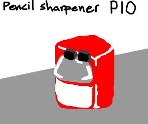 Pencilsharpener PIO