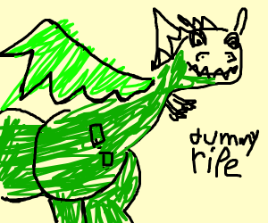 dragon is perfectly ripe