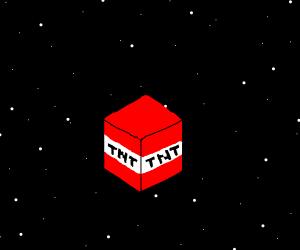 TNT in space