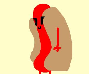 hot dog woman