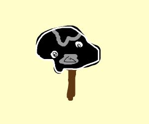 Darth Vader popsicle