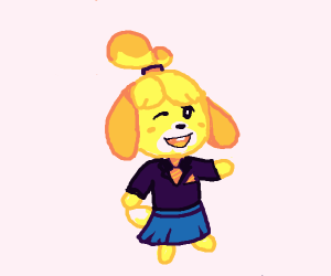 Isabelle looking sharp!