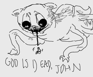 edgy spider Garfield