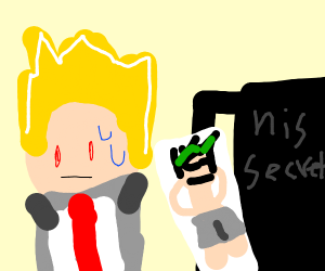 Bakugo is guarding his secret at any cost