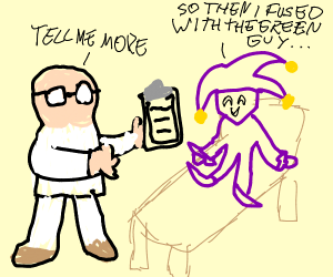 dimentio gets therapy