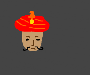 Red turban?