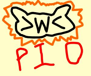 >w< PIO