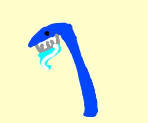 Bent toothbrush