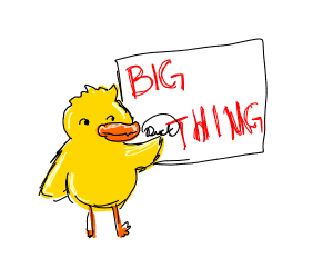 Duck signing big thing